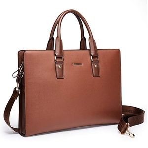 Leather Lawyers Laptop Briefcase